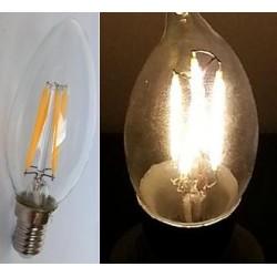 E14 Flamme Transparente Filament - 360 LM - 827